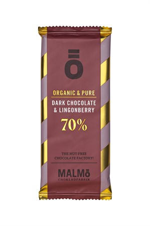 Ö Lingonberry Dark Chocolate 70% (30-pack)